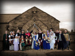 Fancy Dress Wedding at Mill Forge Gretna Green